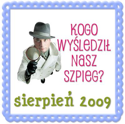 Szpieg blogowy -SIERPIEN