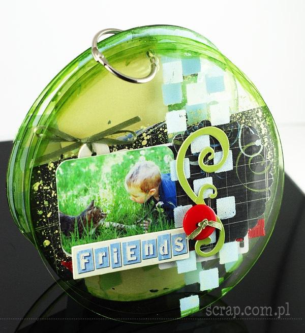 albumik akrylowy Agnieszki okładka