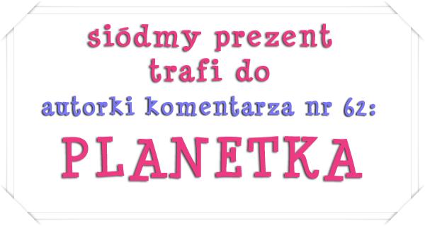 siodmy prezent - PLANETKA