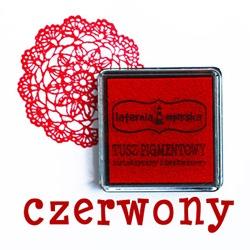 tusz czerwony LM