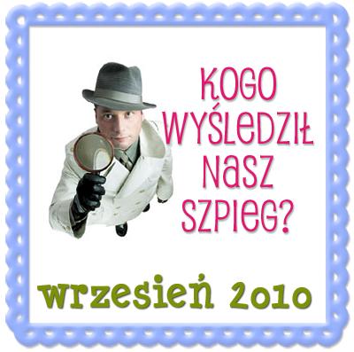 Szpieg blogowy Wrzesien 2010