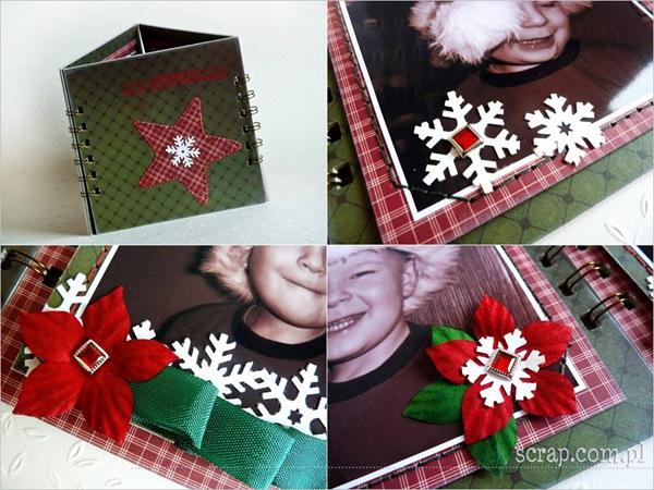 ramka świąteczna - detale