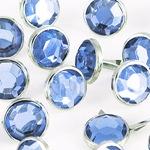 krysztaly okragle niebieskie