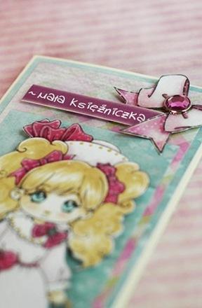 Mala Ksiezniczka - kartka Lewej Raczki det2