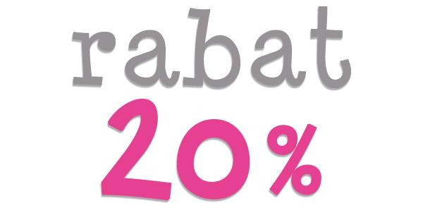 Rabat 20%