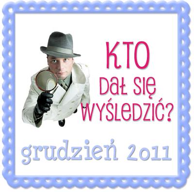 Wysledzeni Grudzien 2011