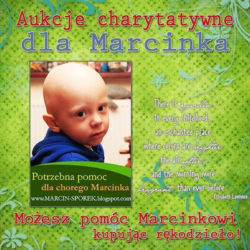 Aukcje dla Marcinka