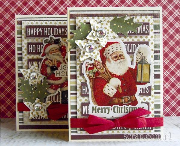 kartki z Mikołajem Moniki 1
