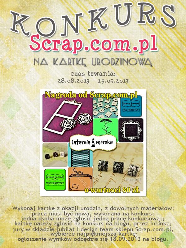 KONKURS_na_kartkę_urodzinową_ScrapComPl
