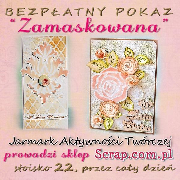 Jarmark_pokaz_zamaskowana