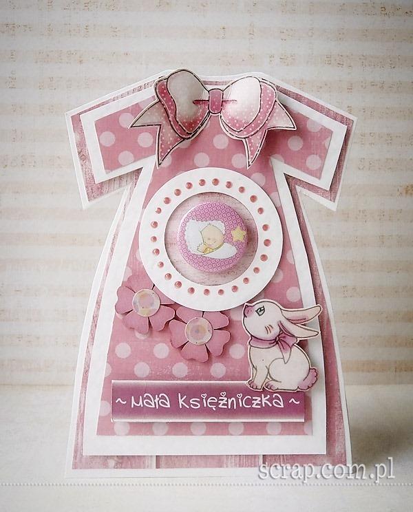 kartka_sukienka_dla_dziewczynki