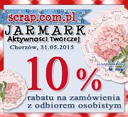 zakupy scrapbooking Jarmark Aktywności Twórczej