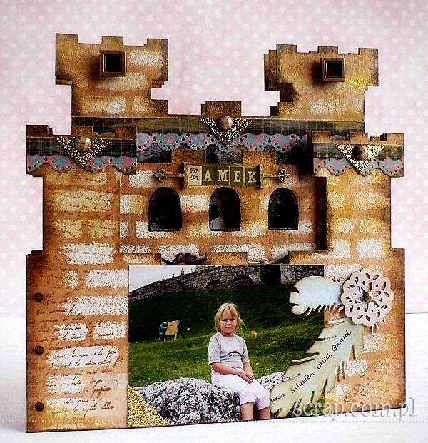 album_scrapbooking_zamek_warownia_Ogrodzieniec1