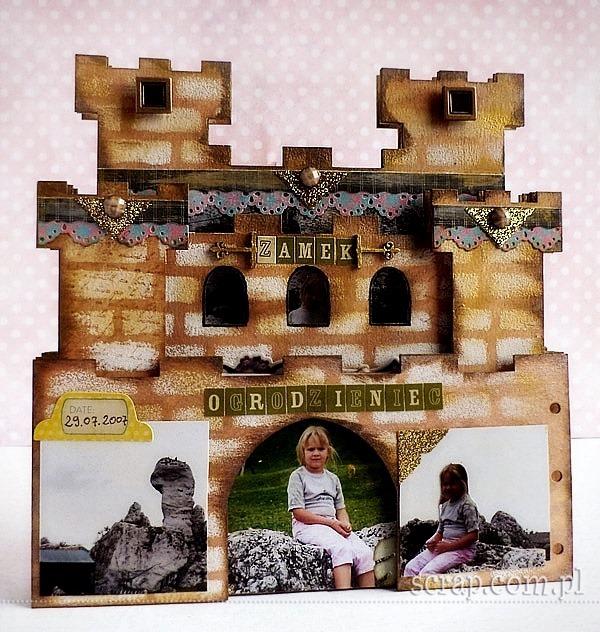 album_scrapbooking_zamek_warownia_Ogrodzieniec6