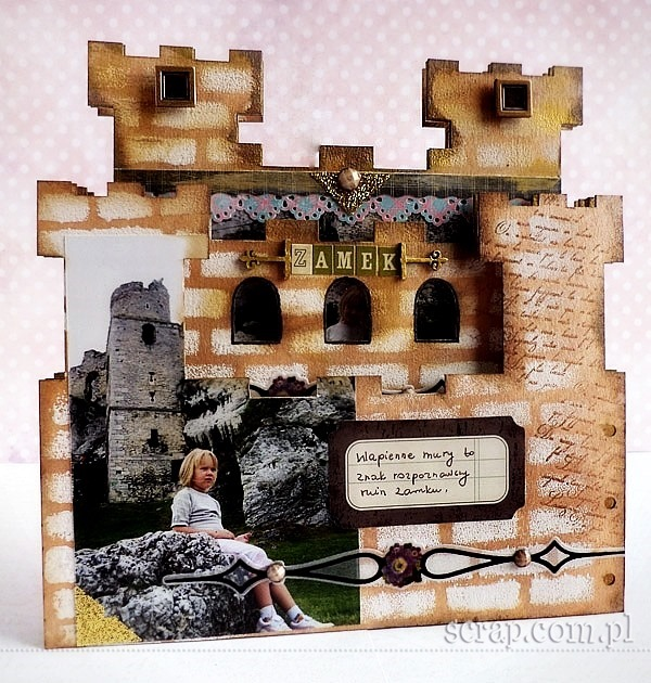 album_scrapbooking_zamek_warownia_Ogrodzieniec7