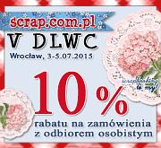 zakupy sklep scrapbooking Wrocław VDLWC